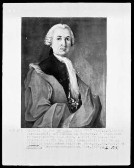Bildnis des Michael Conrad Curtius?, 1767-1802 Professor der Geschichte in Marburg (1724-1802)