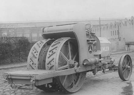 Pflugschlepper, 50 PS (Daimler)