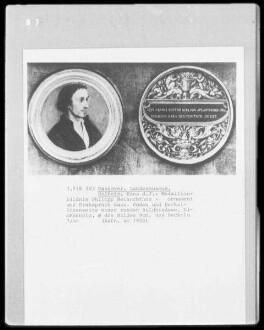 Bildnisdose mit Porträt Philipp Melanchthons