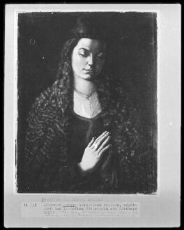 Bildnis einer jungen Frau mit offenem Haar (Bildnis der Katharina Fürlegerin)