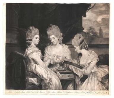 Lady Elizabeth Laura, Lady Charlotte Maria, & Lady Anne Horatia