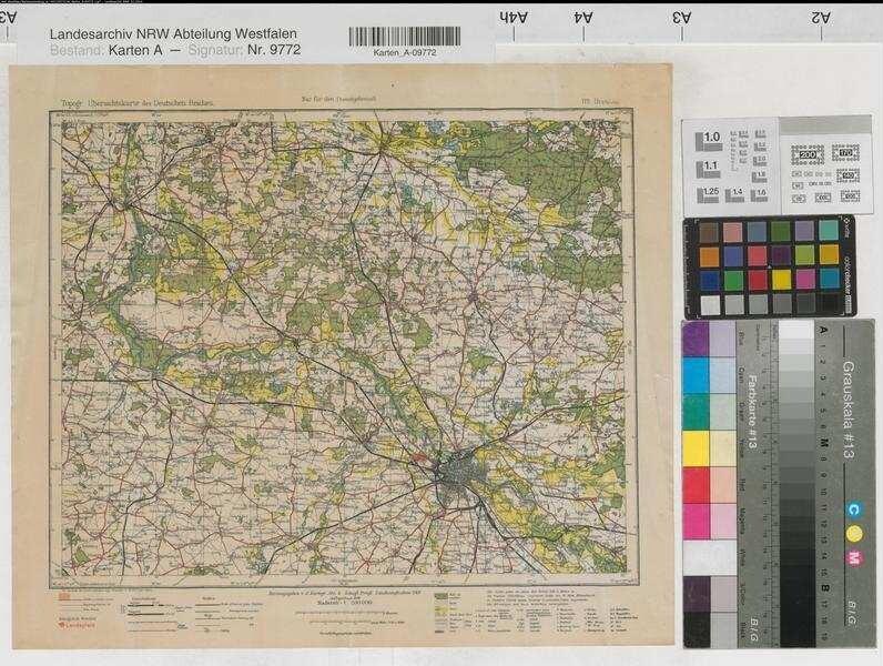 Karte Deutsches Reich 1914.Deutsches Reich Topographische Karte Des Deutschen Reiches