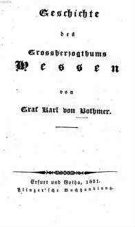 Geschichte des Grossherzogthums Hessen