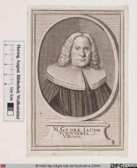 Bildnis Georg Jacob Schwindel