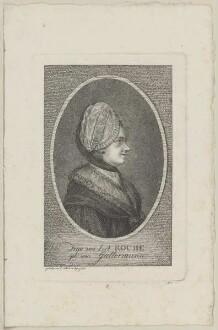 Bildnis der Sophie von La Roche