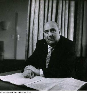 Portraitserie Theodor Schieder