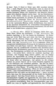 Nossig, Albr.: Revision des Sozialismus