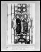 Medaillon mit disputierenden Aposteln (Petrus und Paulus) vor ornamentaler Längsbahn