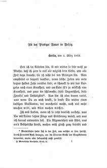 Briefe aus den Jahren 1830 bis 1847. 2, Briefe aus den Jahren 1833 bis 1847