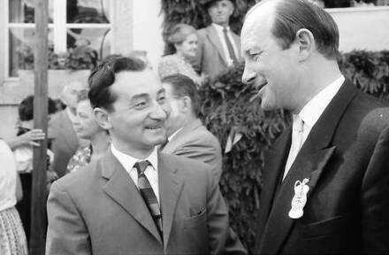 Bernau: Hans-Thoma-Preisträger Arthur Fauser und Staatsrat Filbinger (Köpfe)