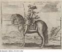 korrekte Haltung des Reiters auf einem Pferd