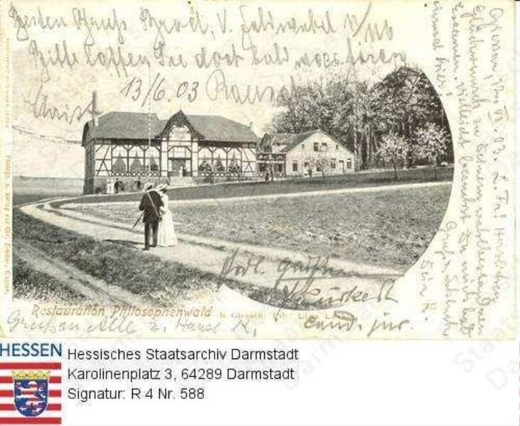 Gießen, Philosophenwald