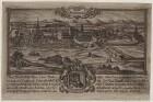 Potsdam vom Brauhausberg mit dem Porträt von Clothar II.