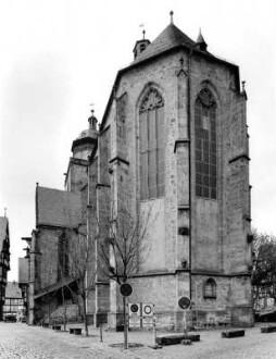 Walpurgiskirche von Osten