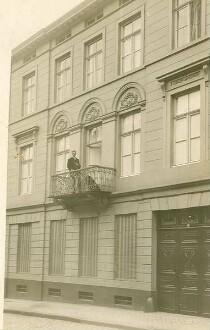 Laurenz Heinrich Hetjens' Wohnhaus in Aachen