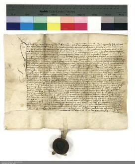 Revers Adolf Raus bezüglich der Belehnung mit der Hälfte des Schlosses Steinau und weiteren im Einzelnen aufgeführten Lehen durch Johann [I. von Henneberg], Abt von Fulda