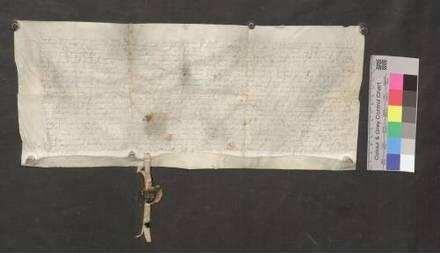 Schultheiß, Kirchherr und Rat der Stadt Bräunlingen erläutern den vom Konstanzer Bischof bestätigten Stiftungsbrief der Frühmesse in ULF Kapelle zu Bräunlingen.