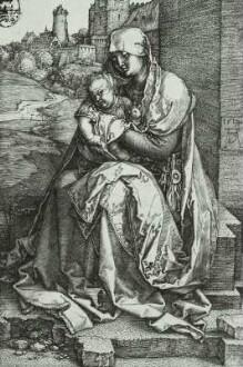 Madonna an der Stadtmauer