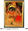 Gott Krishna und Radha