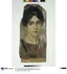 Mumienporträt einer jungen Frau