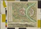 Dresda ad Albim, ... Dresden an der Elb, eine Haupt-Stadt des Oberrn Sachsen, 1:6 000, Kupferstich, 1755
