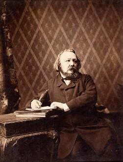 Der Dichter Ferdinand Freiligrath (1810 - 1876)