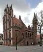 Altes Rathaus — Treppe mit achteckigem Türmchen