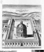 Veteris Latii antiquitatum amplissima collectio: ... Volumen primum. 3 Teile., 1. Teil : Tyburtinorum Rudera, Tafel I: Herculis Templum (Santuario di Ercole Vincitore)