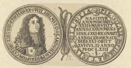 Bildnis von Wilhelm VI., Landgraf von Hessen-Kassel