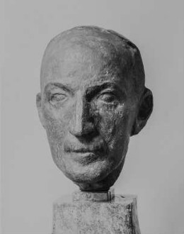 Porträtkopf (Prof. Max J. Friedländer?)