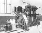 Stehender Dieselmotor, 200 PS (Körting, Hannover)