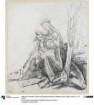 Studie zur Stuppacher Madonna (Madonna dell' Umiltà)