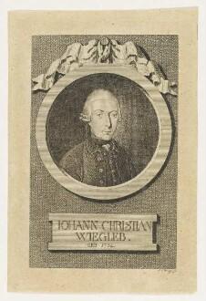 Bildnis des Iohann Christian Wiegleb