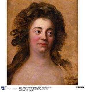 Porträt Dorothea Schlegel