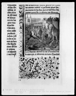 Des cas des nobles hommes et femmes — Hannibal, Folio 182verso