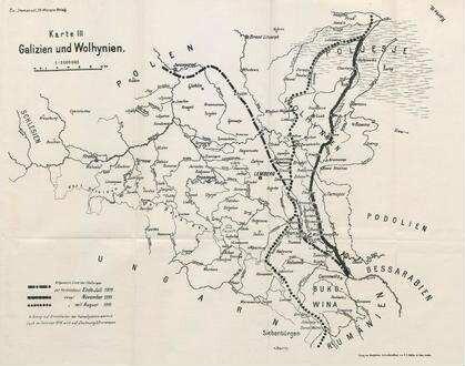 Galizien Karte.Karte Iii Galizien Und Wolhynien Deutsche Digitale Bibliothek
