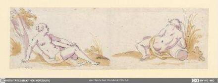 Flussgöttin und Flussgott