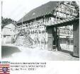 Klein-Bieberau, Waldstraße 4 / eingerüstetes Fachwerkhaus von Franz Quenzer / Bild 1 und 3: Straßenansicht / Bild 2 und 4: Hofansicht