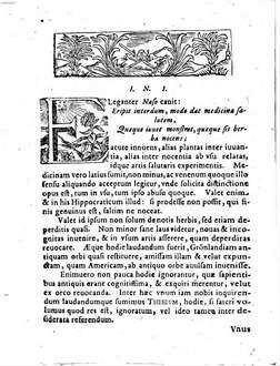 Georgii Wolfgangii Wedelii ... Propempticon inaugurale de Theseo Theophrasti Eresii