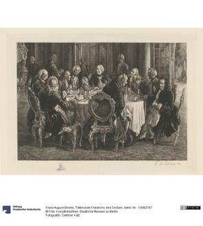 Tafelrunde Friedrichs des Großen