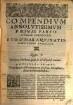˜Ludovici Carbonisœ Compendium absolutissimum totius summae theologiae D. Thomae Aquinatis
