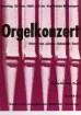 Plakat nach einem Entwurf von Dieter von Andrian für das Orgelkonzert mit Werken von Johann Sebastian Bach in der Stadtkirche Melsungen