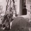 Bacchus auf trunkenem Esel