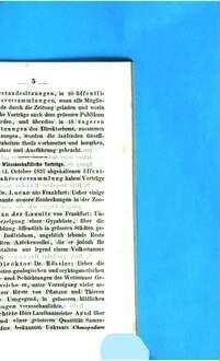 Jahresbericht der Wetterauischen Gesellschaft für die Gesammte Naturkunde zu Hanau. 1857/58, 1857/58