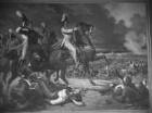 """""""Vaterländische Geschichtsgalerie"""": Die Bayern erfechten unter ... Kronprinz Ludwig den Sieg bei Abendsberg, im Jahre 1809"""
