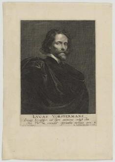 Bildnis des Lvcas Vorstermans