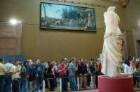 Paris - Menschen im Louvre