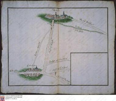 Karte der Geleitstraße von Glauberg nach Ober-Dorfelden