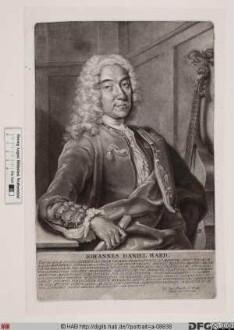 Bildnis Johann Daniel Hard (Hardt)
