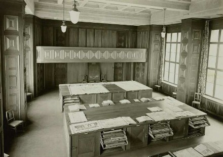 Rißsaal, 1931; Deutsche Fotothek